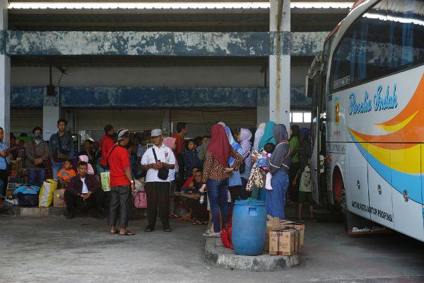 Terminal Dhaksinarga. - Harian Jogja/Herlambang Jati Kusumo