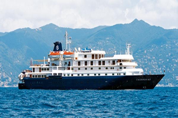 Kapal pesiar MV Caledonian Sky - Istimewa