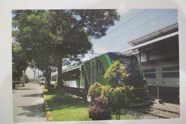 Kereta yang akan dioperasikan di rute Bandara Adi Soemarmo/Stasiun Solo Balapan. (Istimewa)