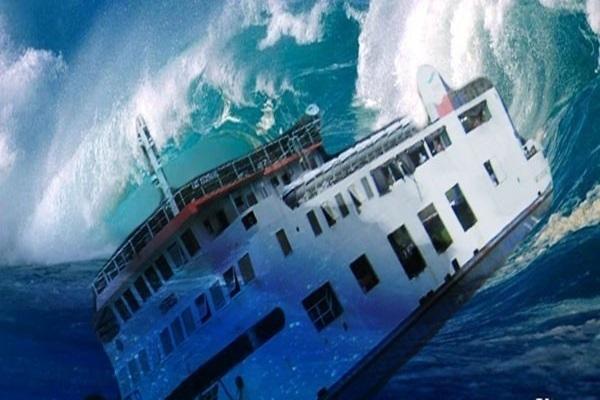 Kapal tenggelam - Ilustrasi/Antara