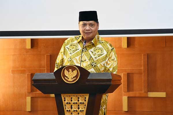 Menperin Airlangga Hartarto di acara Buka Bersama Puasa Ramadan, Jumat (24/5 - 2019). KEMENPERIN