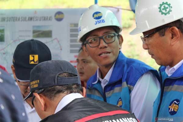 Direktur Utama PT Jasamarga Manado-Bitung (JMB), George Manurung. - ANTARA