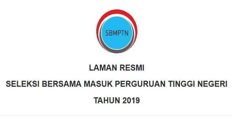 Tangkapan laman SBMPTN 2019. JIBI/Bisnis - Nancy Junita