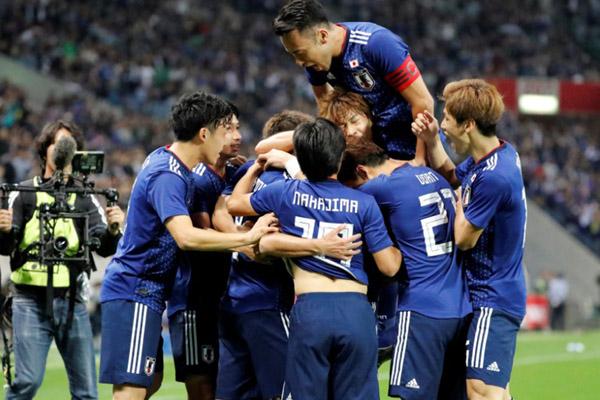 Tim Nasional Jepang. - Reuters