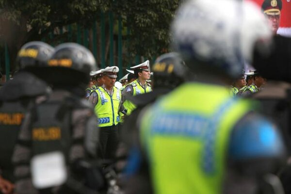Ilustrasi apel personel pengamanan. - JIBI/Harian Jogja