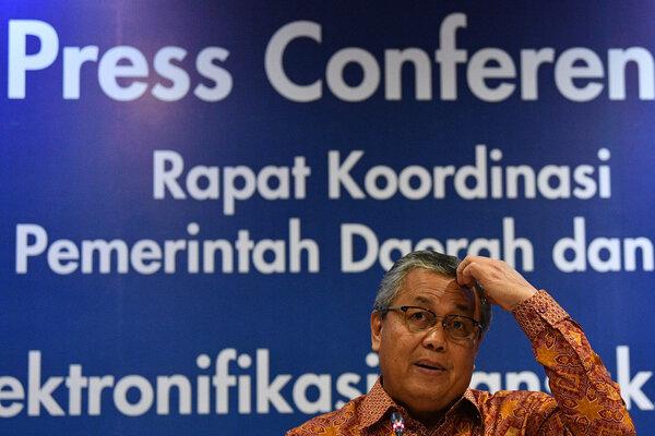 Gubernur Bank Indonesia Perry Warjiyo. - Antara/Sigid Kurniawan