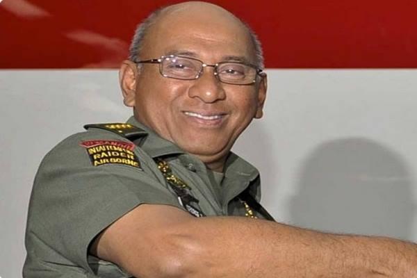 Jenderal TNI (Purn) George Toisutta - Twitter@Nurmantyo_Gatot