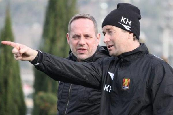 Kasper Hjulmand (kanan) - FCN