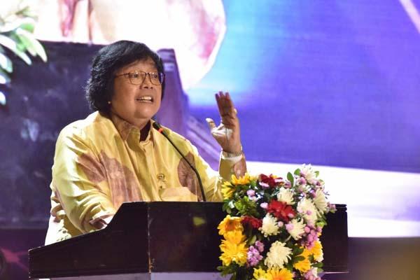 Menteri Lingkungan Hidup dan Kehutanan (LHK) Siti Nurbaya. - Istimewa