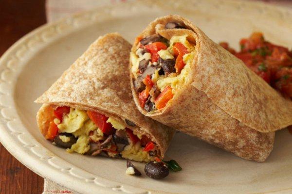 Ilustrasi-Burrito, makanan Meksiko - Cookingmatters.org