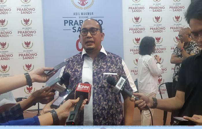 Juru bicara BPN Prabowo-Sandi, Andre Rosiade. - Bisnis/Jaffry Prakoso