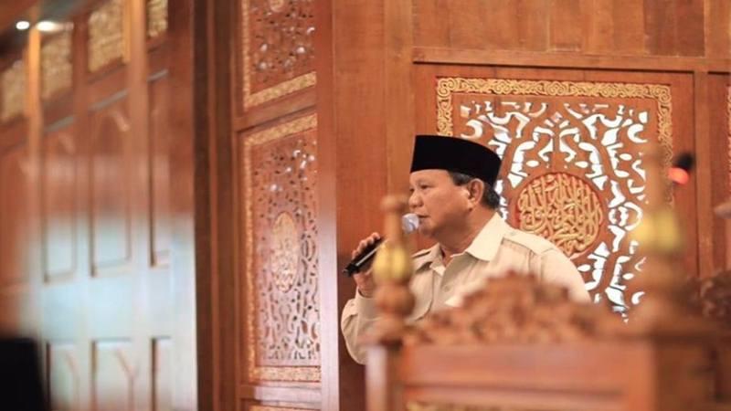 Prabowo Subianto - Facebook@prabowo subianto