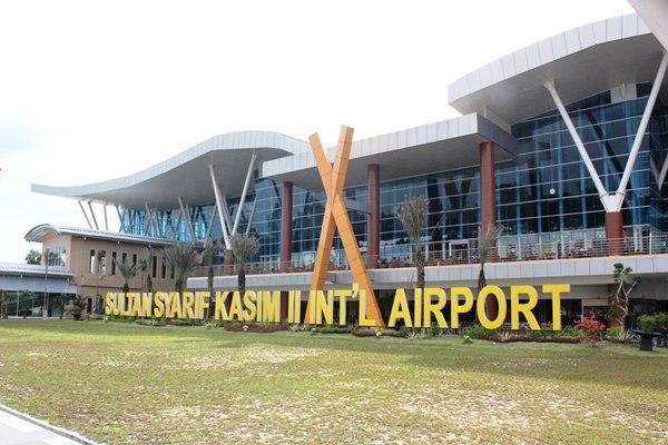 Bandara Sultan Syarif Kasim II. - dipenda.pekanbaru.go.id