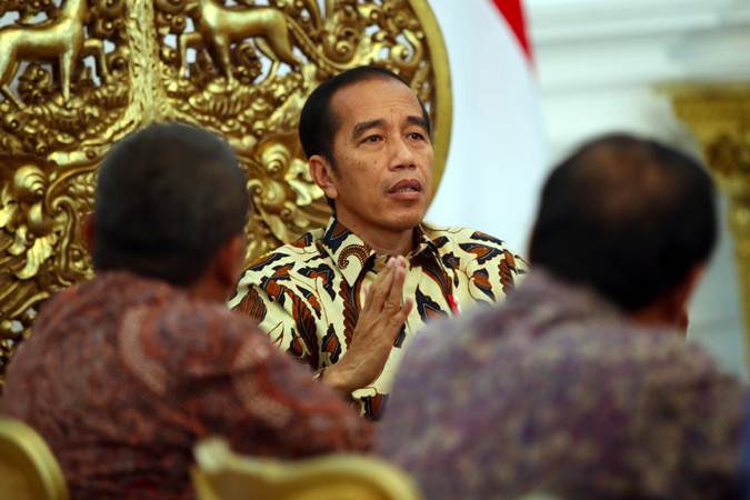 Presiden Joko Wiodo - Bisnis/Abdullah Azzam