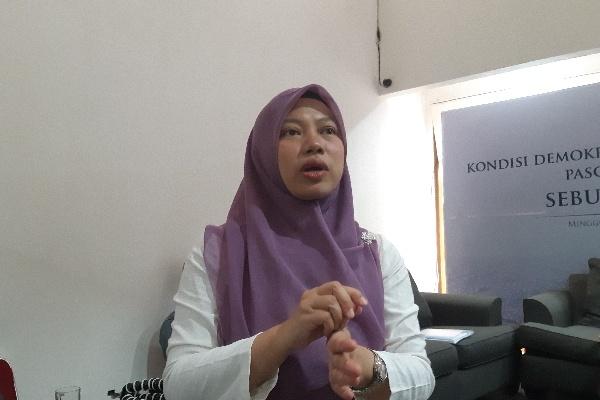 Direktur Eksekutif Perludem Titi Anggraini - Bisnis/Aziz R