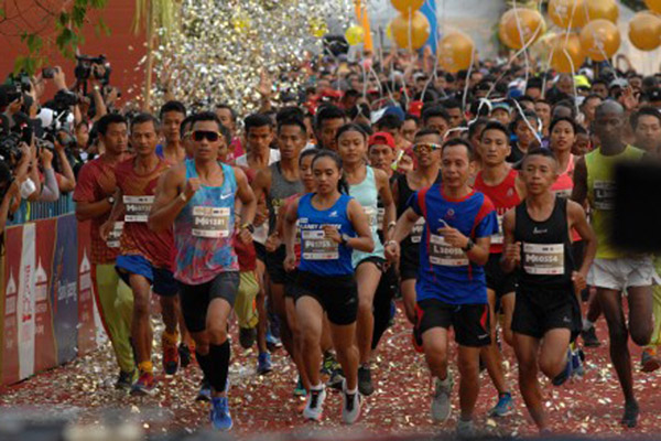 Borobudur Marathon 2018 - Antara/Anis Efizudin