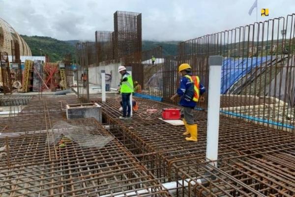 Konstruksi venue PON Papua - Ist