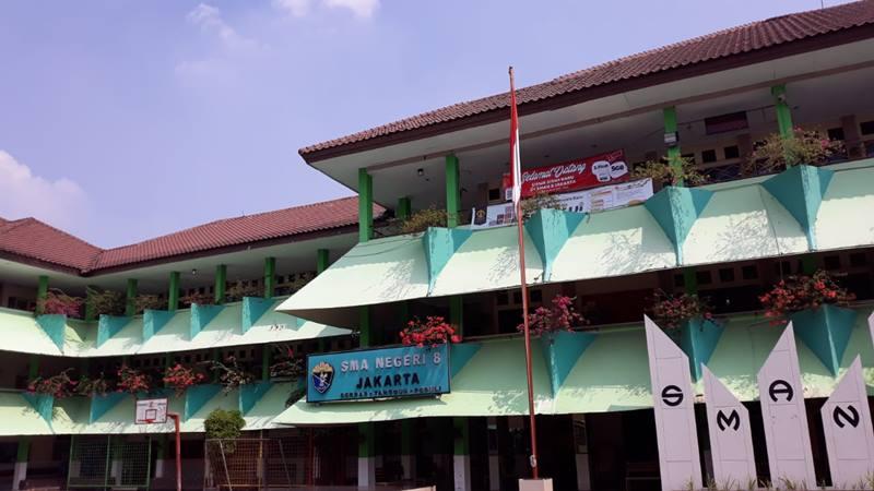SMA Negeri 8 Jakarta di Jakarta Selatan. JIBI/Bisnis - Ria Theresia Situmorang