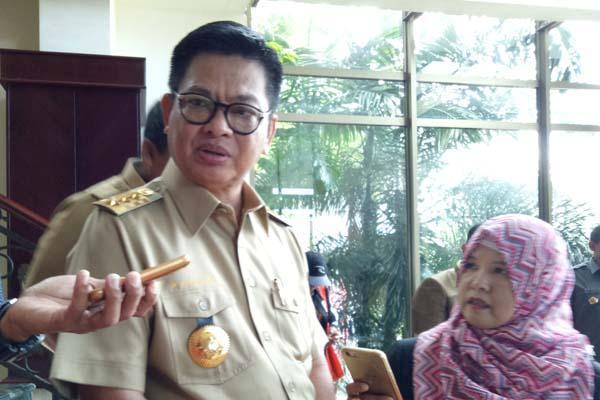 Gubernur Kalimantan Utara Irianto Lambrie - Bisnis/Eldwin Sangga