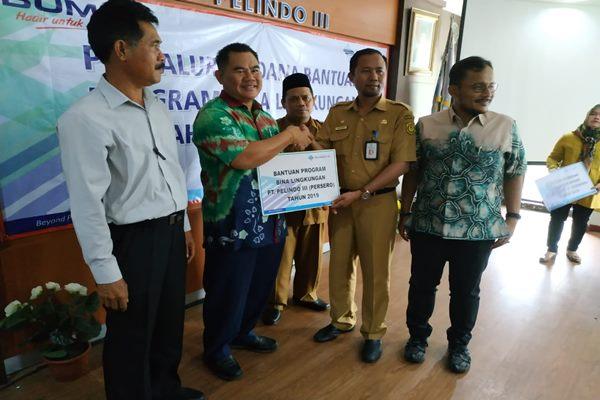 Pelindo III Cabang Banjarmasin kembali menyalurkan bantuan melalui CSR Program Bina Lingkungan - Arief Rahman