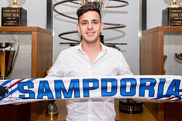 Gelandang Gonzalo Maroni - Sampdoria.it