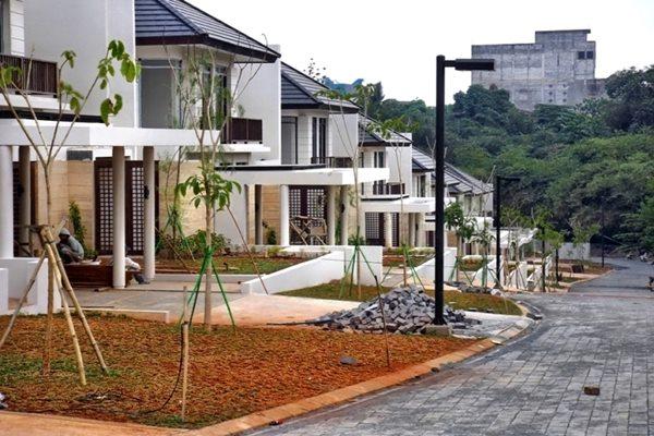 Ilustrasi - Kawasan premium Serena Hills Jakarta Selatan. - Ilustrasi/rumah.com