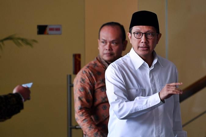 Menteri Agama Lukman Hakim Saifuddin (kanan) - ANTARA/Sigid Kurniawan