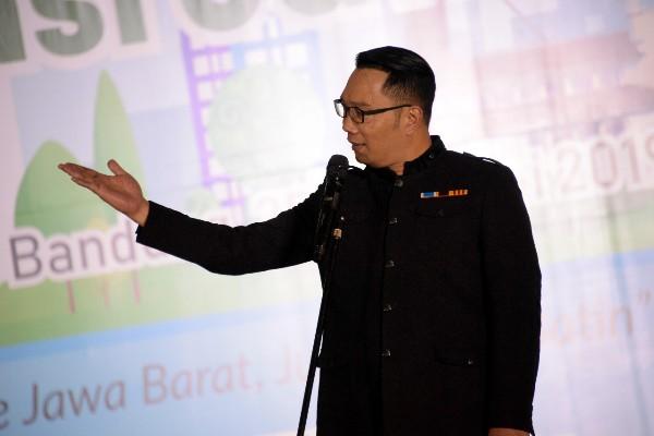 Gubernur Jawa Barat Ridwan Kamil. Bisnis.com -  Wisnu Wage