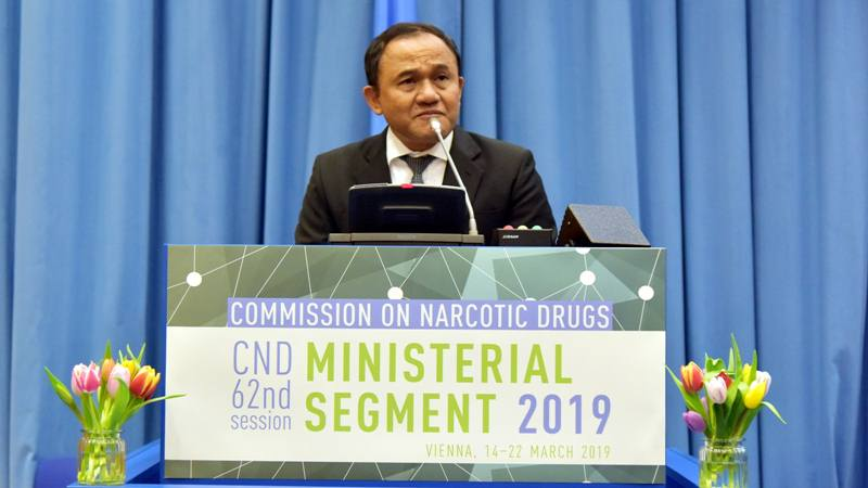 Kepala Badan Narkotika Nasional, Komisaris Jenderal (Pol) Heru Winarko. - Dok. KBRI Wina