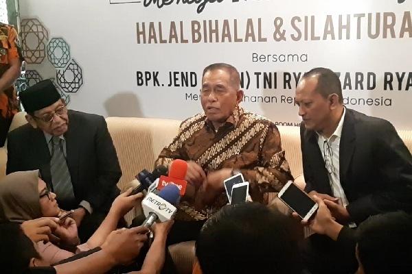 Menteri Pertahanan Ryamizard Ryacudu - Bisnis/Aziz R