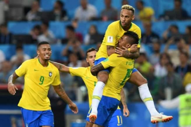 Timnas Brasil - Reuters