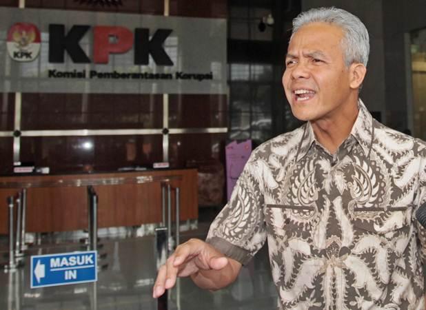 Gubernur Jawa Tengah Ganjar Pranowo. - Antara/Reno Esnir