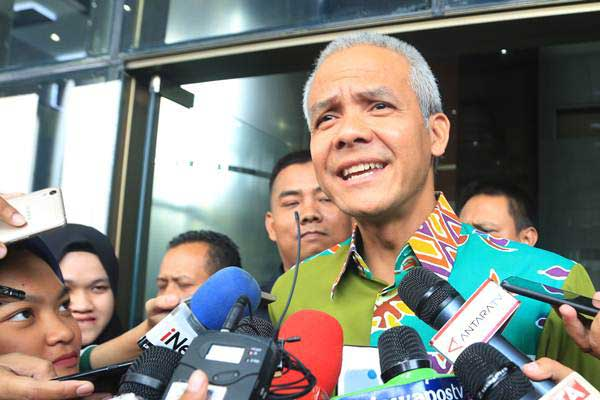 Gubernur Jawa Tengah Ganjar Pranowo - ANTARA/Wibowo Armando