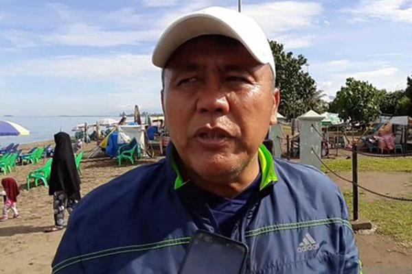 Pelatih Semen Padang FC Syafrianto Rusli. - Antara/Mario Sofia Nasution