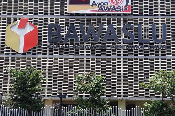 Gedung Badan Pengawas Pemilihan Umum di Jakarta. -Bisnis.com - Samdysara Saragih