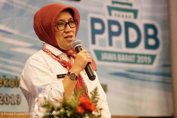 Kepala Dinas Pendidikan Provinsi Jawa Barat Dewi Sartika (Dok Humas Pemprov Jabar)