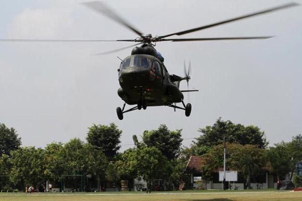 Helicopter Mi-17 - ilustrasi