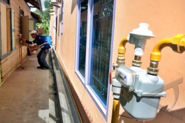 Jaringan gas rumah tangga - Antara