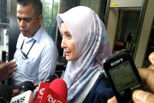 Inneke Koesherawati diperiksa KPK dalam kasus suap Kepala Lapas Kelas 1 Sukamiskin Jawa Barat, Selasa (24/7). - JIBI/Rahmad Fauzan