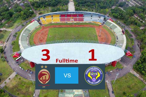 Foto aerial stadion Gelora Sriwijaya Jakabaring (GSJ) yang berada di kompleks olahraga Jakabaring Sport City (JSC) Palembang, Sumatera Selatan, Jumat (30/6). - ANTARA/Nova Wahyudi