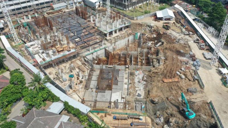 Progres pembangunan apartemen Urban Sky di Cikunir, Bekasi, Jawa Barat, pada Mei 2019. - UrbanJakarta.co.id