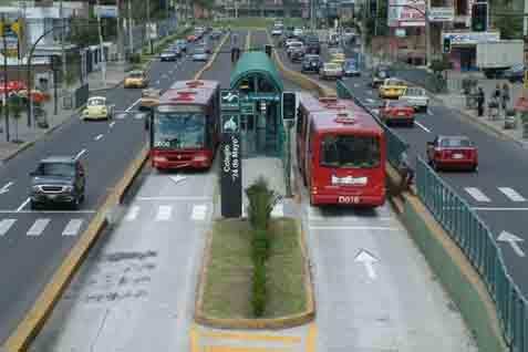 Ilustrasi - Bus Rapid Transit - Bisnis/Miovision.com