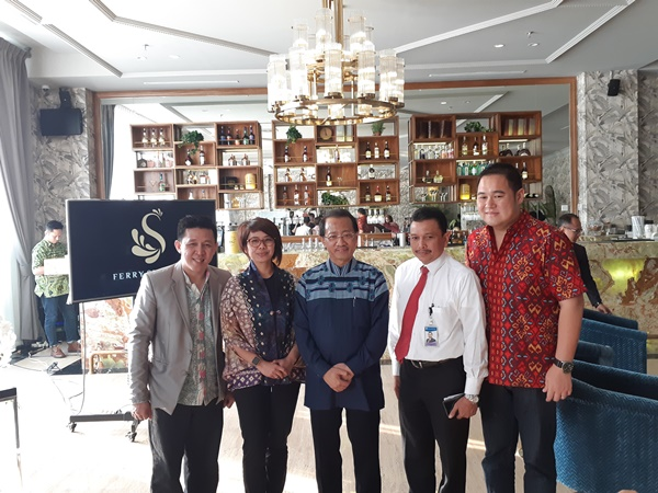 Konferensi Pers Festival Indonesia Moskow (FIM) 2019. - Bisnis/Eva Rianti