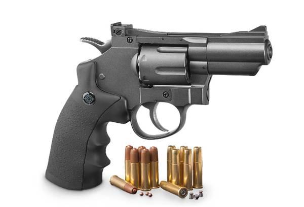 Ilustrasi-Revolver Air gun Crosman SNR 357 - sportsmansguide.com