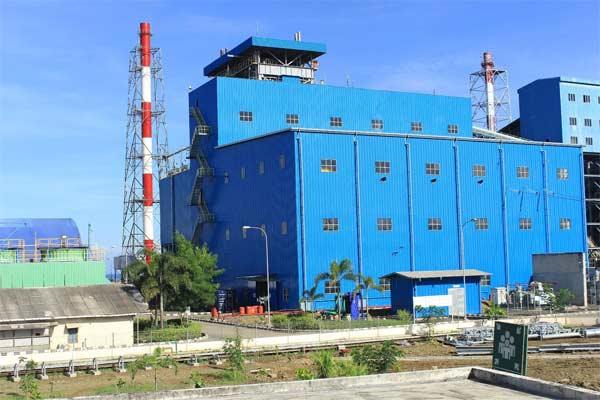 PLTU Jeranjang berlokasi di Desa Taman Ayu Kecamatan Gerung Kabupaten Lombok Barat, NTB, dengan kapasitas terpasang 3 x 25 MW. - Indonesiapower