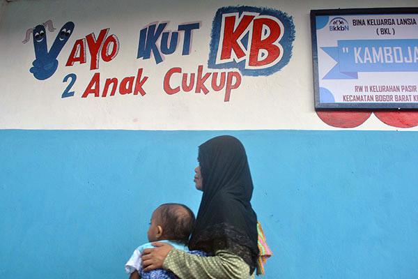 Ilustrasi Kampung KB. - Antara/Arif Firmansyah