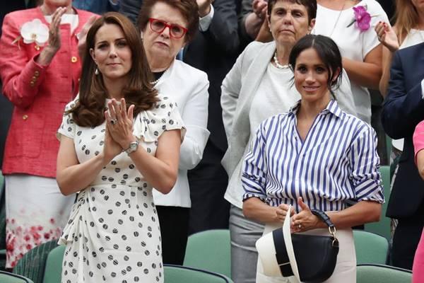 Kate Middleton dan Meghan Markle - Istimewa