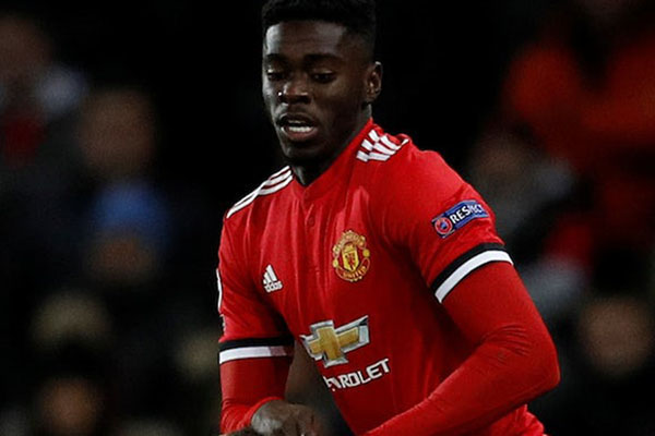 Pemain Manchester United Axel Tuanzebe - Reuters