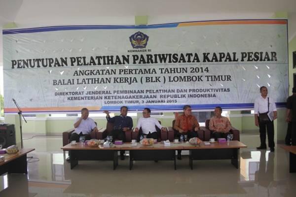 Ilustrasi-Penutupan pelatihan pariwisata kapal pesiar di BLK Internasional Lombok Timur - ntbprov.go.id