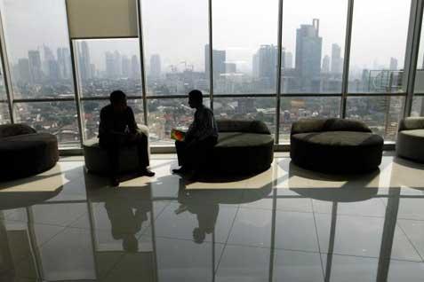 Gedung perkantoran di Jakarta.